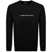 Diesel S Bay Copy Sweatshirt Black