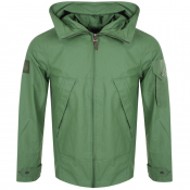 Product Image for Pretty Green Lightweight Hooded Jacket Green
