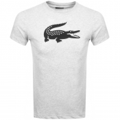 Product Image for Lacoste Sport Crew Neck Logo T Shirt Grey
