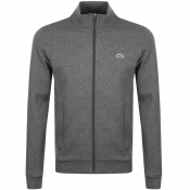 Product Image for Lacoste Sport Zip Up Sweatshirt Grey