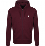 Ralph Lauren Full Zip Hoodie Red
