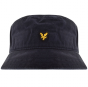 Lyle And Scott Twill Bucket Hat Navy