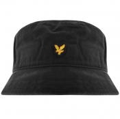 Lyle And Scott Twill Bucket Hat Black