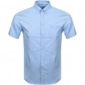 Product Image for Lacoste Short Sleeved Shirt Blue