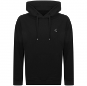 Product Image for Vivienne Westwood Small Orb Oversized Hoodie Black
