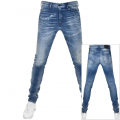 Product Image for Diesel D Reeft 0870Q Jeans Blue
