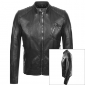 Product Image for Belstaff V Racer Leather Jacket Black