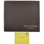 Ted Baker Antonys Leather Wallet Brown