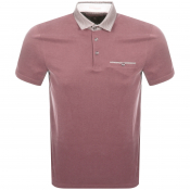 Product Image for Ted Baker Aslam Polo T Shirt Pink