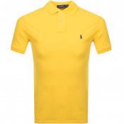 Ralph Lauren Slim Fit Polo T Shirt Yellow