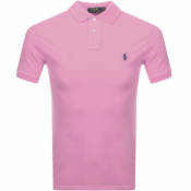 Product Image for Ralph Lauren Slim Fit Polo T Shirt Pink