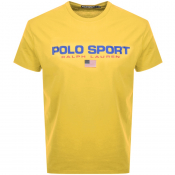 Product Image for Ralph Lauren  Crew Neck Logo T Shirt Yellow