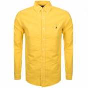 Product Image for Ralph Lauren Long Sleeved Oxford Shirt Yellow
