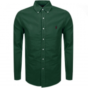 Ralph Lauren Long Sleeved Oxford Shirt Green