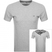 Product Image for CP Company Logo T Shirt Grey