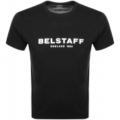 Product Image for Belstaff 1924 Logo T Shirt Black