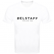 Product Image for Belstaff 1924 Logo T Shirt White
