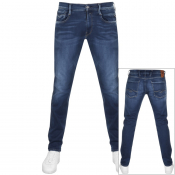 Product Image for Replay Anbass Jeans Blue