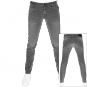 Product Image for Replay Anbass Hyperflex Jeans Grey
