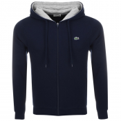 Product Image for Lacoste Sport Full Zip Hoodie Navy