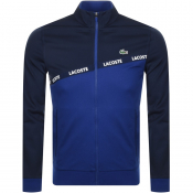 Lacoste Sport Zip Up Sweatshirt Navy