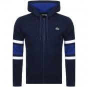 Product Image for Lacoste Sport Zip Up Hoodie Navy