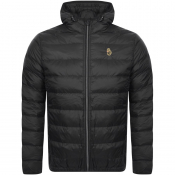 Product Image for Luke 1977 Quilted Hooded Jacket Black