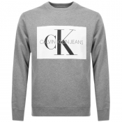 Product Image for Calvin Klein Jeans Monogram Sweatshirt Grey