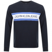 Product Image for Calvin Klein Jeans Logo Sweatshirt Black