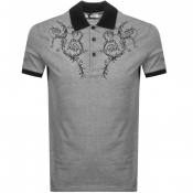 Product Image for Versace Collection Baroque Polo T Shirt Black