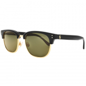 Ralph Lauren Polo Player Sunglasses Black