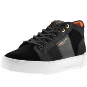 Product Image for Android Homme Propulsion Velvet Mid Trainers Black