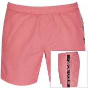 BOSS HUGO BOSS Dolphin Swim Shorts Pink