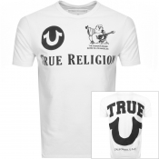 True Religion Buddha T Shirt White