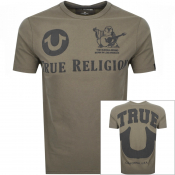 True Religion Buddha T Shirt Brown