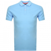 Product Image for Superdry Classic Micro Pique Polo T Shirt Blue