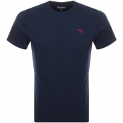 Barbour Sports T Shirt Navy
