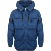 Product Image for MCQ Alexander McQueen Parka Jacket Blue