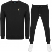 Product Image for Luke 1977  Paris And Rome Tracksuit Black