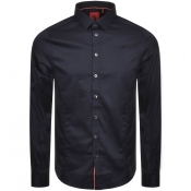 Luke 1977 Butchers Pencil 2 Shirt Navy
