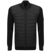 Barbour International Baffle Jumper Black