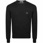 Vivienne Westwood Crew Neck Knit Jumper Black