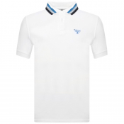 Product Image for Barbour Beacon Short Sleeved Polo T Shirt White