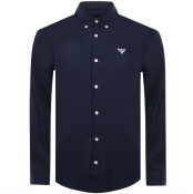 Barbour Beacon Seathwaite Shirt Navy