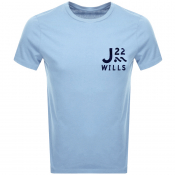 Product Image for Jack Wills Barford Short Sleeved T Shirt Blue