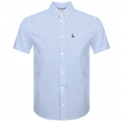 Product Image for Jack Wills Stableton Short Sleeved Shirt Blue