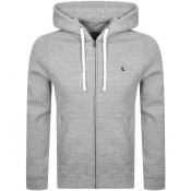 Product Image for Jack Wills Pinebrook Full Zip Hoodie Grey