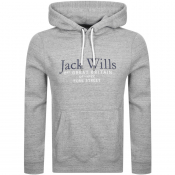 Jack Wills Batsford Wills Hoodie Grey