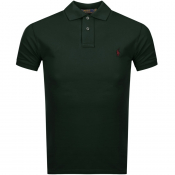 Ralph Lauren Slim Fit Polo T Shirt Green