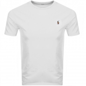 Ralph Lauren Crew Neck T Shirt White